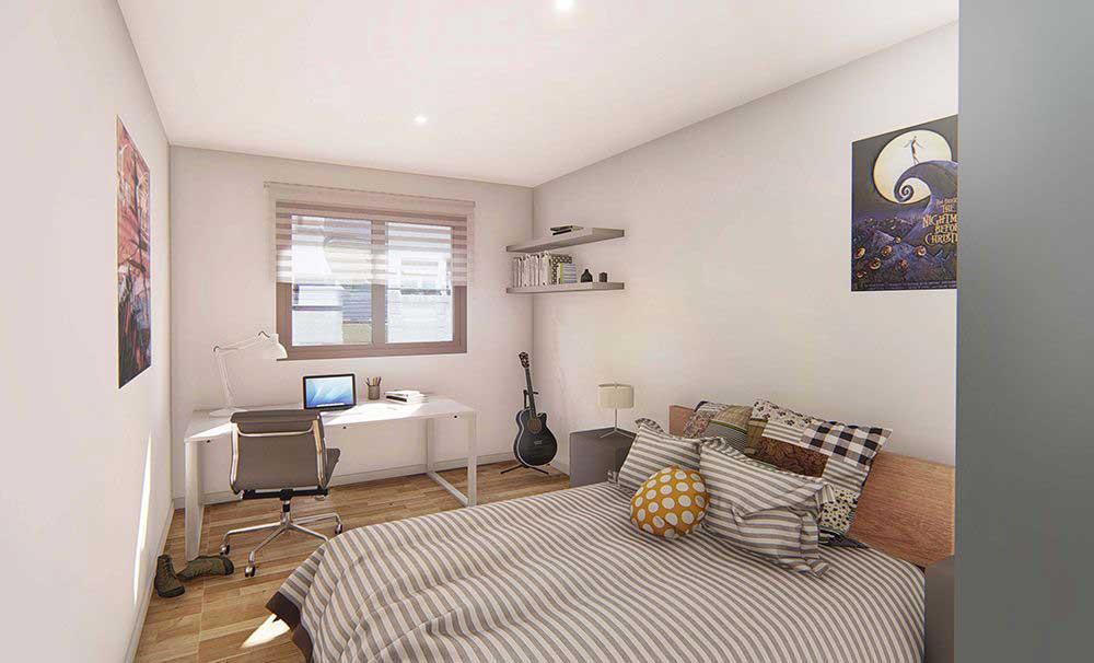 Calle Burgos 17, Bajo · Madrid · Apartamento de 40 m2 útiles · Con 1 habitación y 1 baño · Precio: 137.000 euros