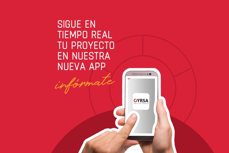 OyrsApp, nueva aplicación web para que sigas y gestiones tu proyecto con nosotros